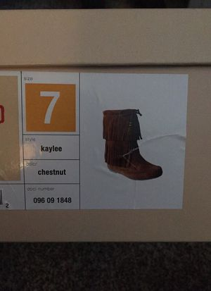 Size 7 fray boots for Sale in Broadlands, VA