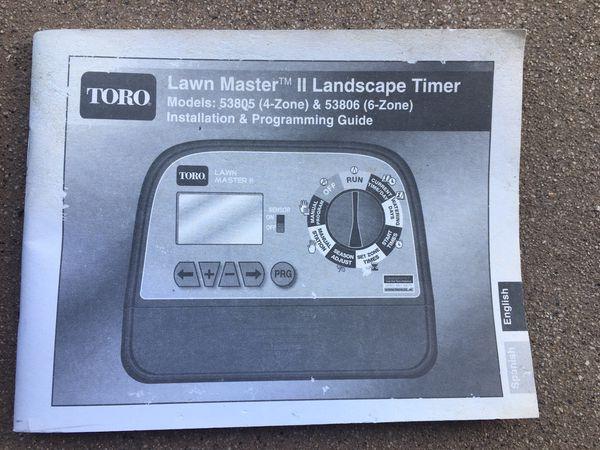 Toro Lawn Master II Sprinkler Timer