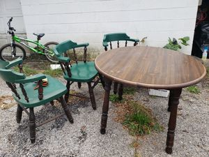 Kitchen Table with 4 Matching Chairs for Sale in Rocky Mount, VA