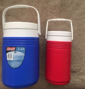 2 COLEMAN COOLERS Camping, Beach, Picnics for Sale in Huntington Beach, CA