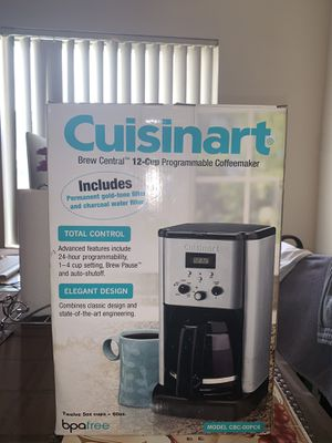 New Cuisinart Coffee Maker for Sale in La Mirada, CA