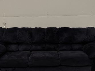 Black Suede Couch for Sale in Aurora,  CO