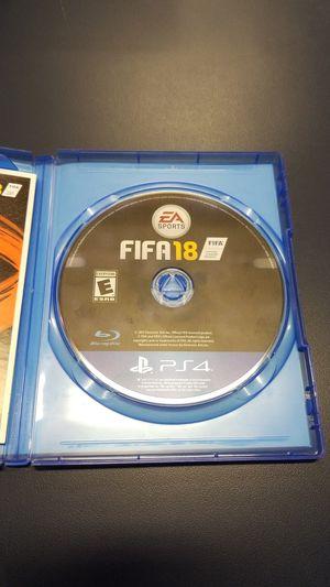 PS4 FIFA 18 (777929-15) for Sale in Tacoma, WA