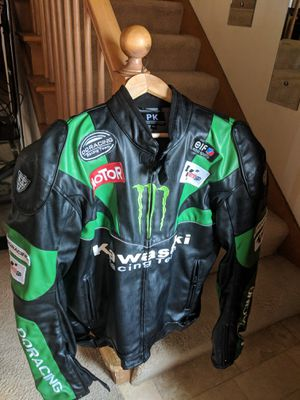 Kawasaki padded motorcycle jacket for Sale in Racine, WI