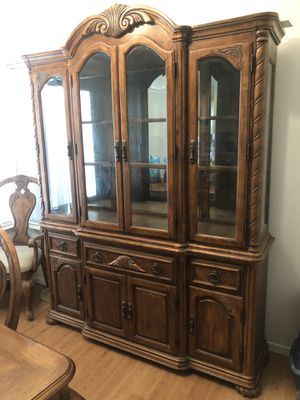 Kitchen Dining Hutch for Sale in Visalia, CA