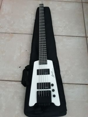 spirit steinberger 5-string headless bass guitar for Sale in Miami, FL