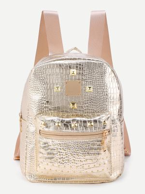 Sizzling Gold Backpack Purse for Sale in Taylor, MI