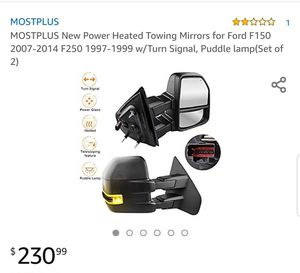 New Mostplus towing mirrors for 2007-14 F150. New never installed. for Sale in Georgetown, KY