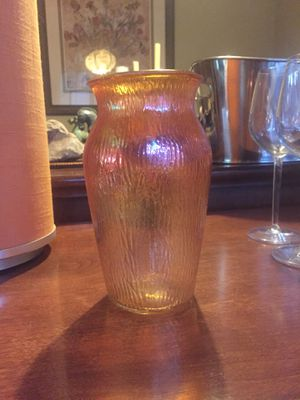 Antique Carnival Glass Vase for Sale in Portland, OR