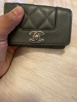 Authentic Chanel Card Holder Charcoal 2020 for Sale in Phoenix,  AZ