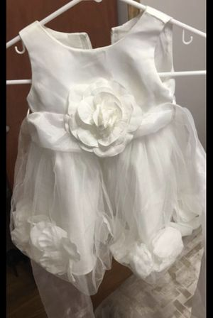 3-6 mo. Baptism/christening/flower girl dress for Sale in Chicago, IL
