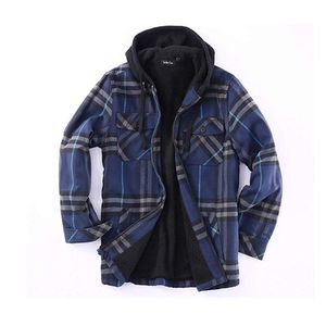 Golden tree big and tall men's hoodie flannel jacket for Sale in Pawtucket, RI