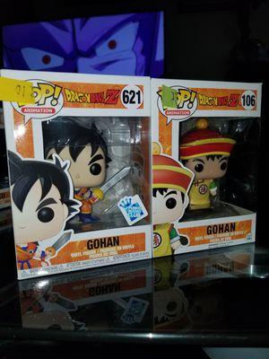 Funko pop dragon ball z gohan bundle for Sale in Dallas, TX