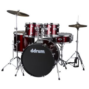 Ddrum D2 - Blood Red - 5 piece drum kit for Sale in Sergeant Bluff, IA