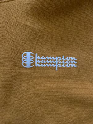 PREMIUM YELLOW CHAMPION HOODIE for Sale in Mansfield, TX