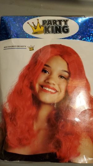 New Adult Red Haired Beauty Wig for Sale in Walkerton, IN
