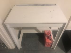 White table for Sale in Washington, DC