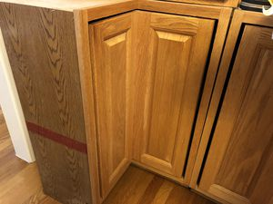 Kitchen bottom corner cabinet with lazy Susan for Sale in Westford, MA