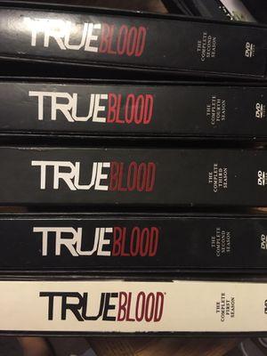 True Blood DVD set - seasons 1-4 for Sale in North Las Vegas, NV