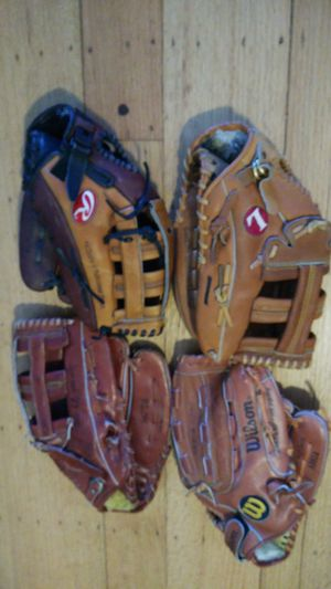 $30 each Slowpitch softball glove baseball mitt for Sale in San Leandro, CA