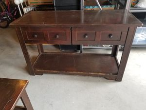 Dark Wood Sofa Table / Console Table for Sale in Snohomish, WA