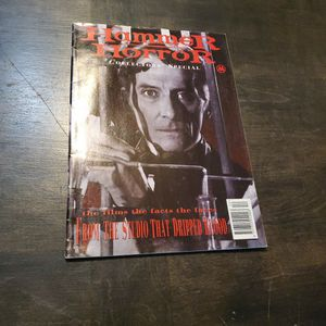 Hammer Horror Collector's Special Limited Edition Movie Magazine Published By Marvel UK, Dracula, Frankenstein, Mummy, Christopher Lee for Sale in Fresno, CA
