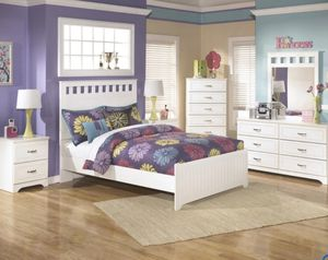 Lulu White Youth Panel Bedroom Set for Sale in Fairfax, VA