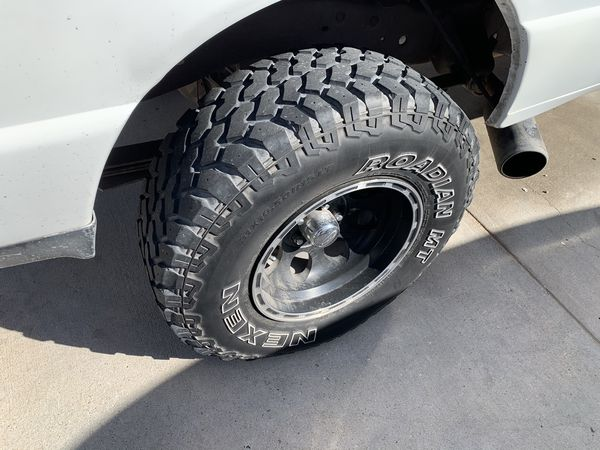 31x10.50r15 JUST SELLING THE TIRES 5 In Total 2 are in New Condition