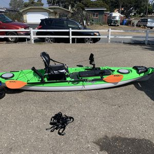 "Kayak, 12' 6"" Jackson Kayaks Cuda LT Ocean Kayak with all the fixins for Sale in Los Osos, CA"