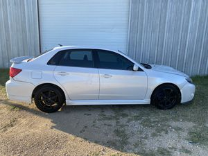 2010 Subaru WRX white sedan manual 5 speed all wheel drive for Sale in Austin, TX