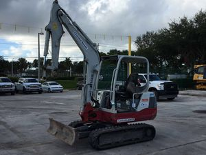Mini Excavator 2013 Takeuchi TB235 for Sale in Riviera Beach, FL