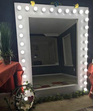 HUGE full body vanity mirror for sale! over 6ft tall for Sale in Houston, TX