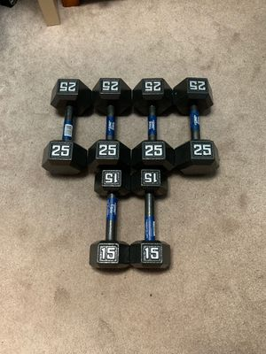 Fitness gear weights for Sale in Rockville, MD