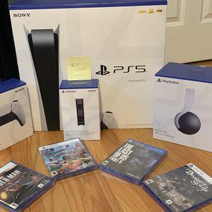 PS5 Bundle- $1,200 New for Sale in Berwyn, IL