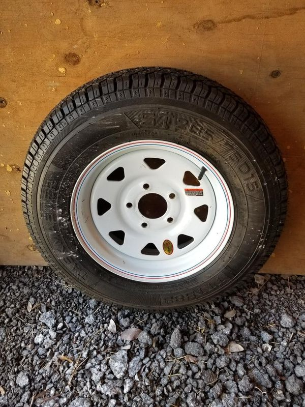 Trailer Tires With Rim