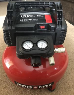 PORTER CABLE 6 GAL. AIR COMPRESSOR for Sale in Pomona, CA