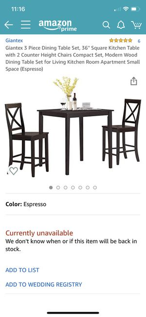 Brand new kitchen table set for Sale in Redondo Beach, CA
