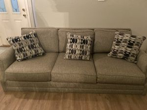 Sofa and FREE matching chair for Sale in Keller, TX
