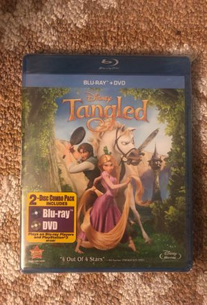 NEW Tangled Blu Ray + DVD NEW for Sale in Redlands, CA