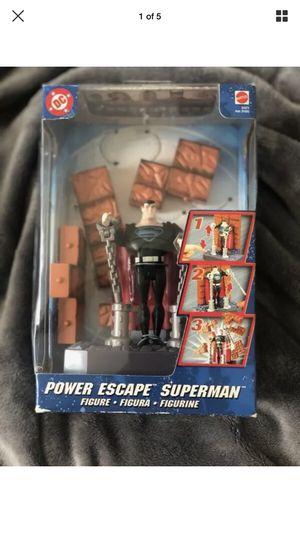 """Mattel DC Comics Justice League Power Escape Superman Action Figure """"2003"""" for Sale in Malden, MA"""