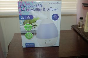 NEW , NORTH POINT ULTRASONIC LED AIR HUMIDIFIER & DIFFUSER for Sale in North Fort Myers, FL