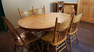 Dining table w/6 chairs for Sale in Harrison, MI