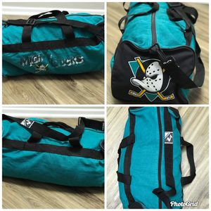 Vtg Mighty Ducks Hockey Duffle Bag for Sale in Ontario, CA