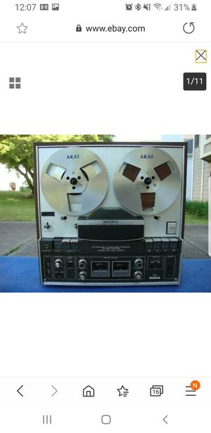 Vintage Sony TC-440 reel to reel Recorder for Sale in Warren, OH