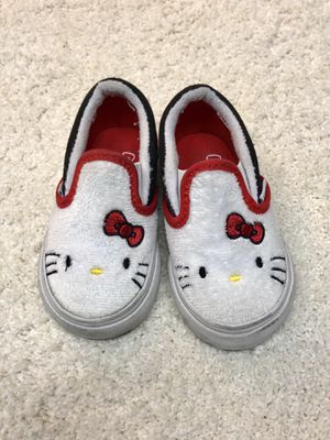 Hello Kitty Vans size 4 toddler for Sale in Dublin, CA