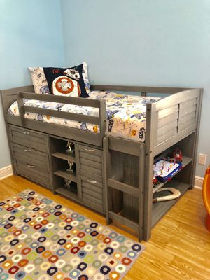 Twin wood bunk bed for Sale in Winter Park, FL