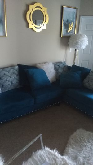Blue sectional for sale 300 this is a sectional for Sale in Riverview, FL