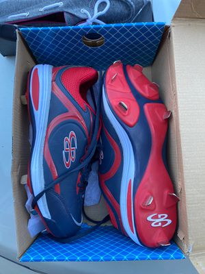Size 11 women softball cleats for Sale in East Dundee, IL