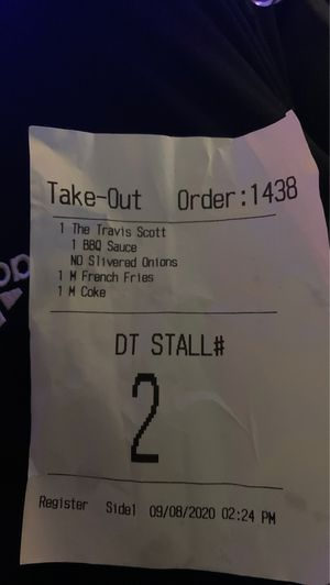 Travis Scott's meal for Sale in Niles, IL