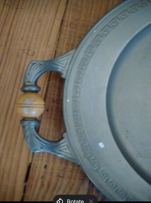 Antique Silver Platter for Sale in Herndon, PA